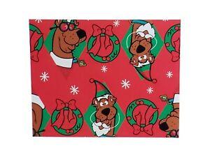 Hallmark Hanna-Barbera Scooby Doo Xmas Wrap Christmas Wrapping Paper Holiday Red