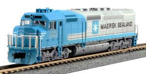 Kato N Scale EMD SDP40F Locomotive BNSF Maersk #6976 DC DCC Ready 1769241