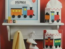 Welcome Baby Train Set Topper / Frame Pattern(s) in Plastic Canvas