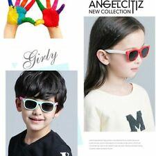 Kids Polarized Sunglasses Uv Rectangular Boys Girls Shades Fashion Children C373