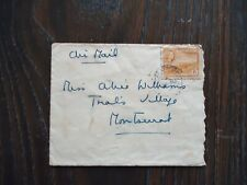 Early Antigua Air Mail Cover With 6 Cents Stamp.