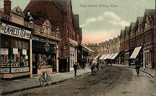 Sidcup. High Street by Alfred Dewey, Sidcup. The Empress Tea Stores.