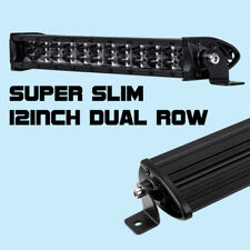 12inch CREE 72W Super Slim LED Light Bar 8D Single Row 6000K Driving BWM ATV SUV