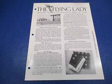 The Flying Lady Rolls-Royce Magazine January 1980, Ghost, Web Woodmansee