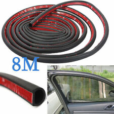 8M Car Motor Door D-shape Rubber Seal Weather Strip Sound proof seal strip Sale