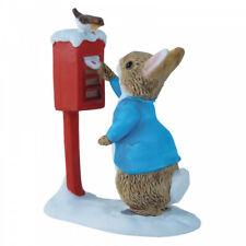 Beatrix Potter Peter Rabbit Posting A Letter A3486 Christmas Figure Figurine New