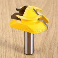 1/2 Inch Shank Lock Miter Tenon Cutter 45 Degree Router Bit Woodworking Tools