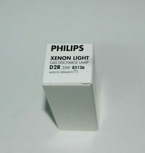 1 New Philips 85126 D2R 4300K 35W Xenon Bulb HID Head Light Lamp made in Germany