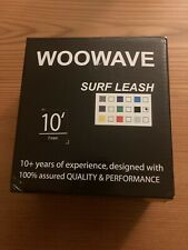 New listing Woowave Sup Leash 10 Foot Coiled Stand Up Paddle Board Surfboard Leash New Open