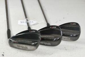 Wilson Harmonized 52*, 56*, 60* Wedge Set Right Wedge Flex Steel # 124978