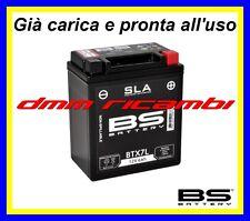 Batteria Moto BS SLA Gel BETA M4 350 03>04 già carica pronta  all'uso 2003 2004