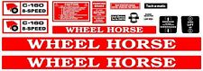 WHEEL HORSE C-160 8- SPEED DECAL SET