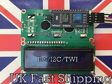 Serial LCD 1602 16x2 Module with IIC/I2C/TWI Adapter For Arduino, Raspberry Pi