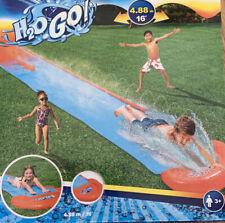 Bestway H20GO! Lane Water Slide 4.88 m Inflatable Slip and Slide NEW