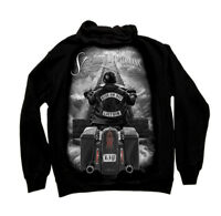 David Gonzales Art DGA Ride or Die Stairway To Heaven Adult Mens Zip Up Hoodie