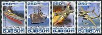 Djibouti Military Aviation Stamps 2020 MNH WWII WW2 Battle of Okinawa 4v Set