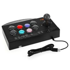 PXN-0082 Wired USB Arcade Joystick TURBO/MACRO Game Controller PC/PS3/PS4/Xbox