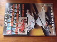 $$v Revue Tamiya Model Magazine N°34 Douglas F4D-1 Skyray  Ferrari F310B