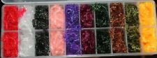 Fly Tying Fritz Chenille Boxed Set of 10 colours