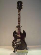 Miniature Guitar (24cm Tall) : BLACK SABBATH TONY IOMMI SG