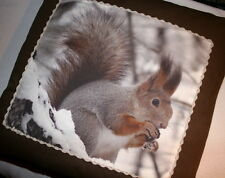 Kissen Kissenhülle Benny Eichhörnchen 50x50 natur Foto Digitaldruck Proflax