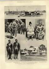 1897 Benin Expedition Fetish Divinità Principe archiboy parsee Tower Disegno