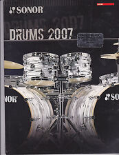 VINTAGE MUSICAL INSTRUMENT CATALOG #10024 -(2007) SONOR DRUMS