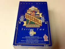 1993 UPPER DECK SERIES 2 BASEBALL FACTORY SEALED BOX, 36 PACKS, DEREK JETER RC