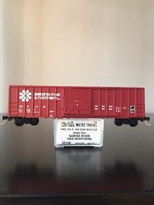 Kadee Micro Trains MTL 25100 Sabine River & Northern SRN 5149 50' Box Car