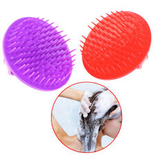 Round Soft Shower Shampoo Massage Brush Hair Washing Comb Scalp Head Massage F1