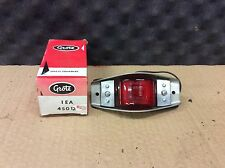 NOS Grote Red ARMORED CLEARANCE Light 45012 Bus Truck Trailer RAT ROD