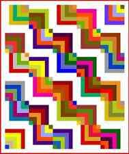 """KERFUFFLE - 77"""" x 65"""" - Pre-cut Quilt Kit by Quilt-Addicts Single"""