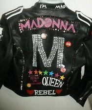 Limited Edition Madonna Leather Jacket Rebel Heart L NEVADA LOVE, PARIS  Large