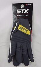 New Women's Stx Lacrosse Gray Breeze Gloves (G1-31)