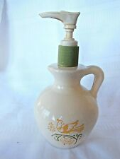 Avon Vintage Country Cottage Hand Lotion bottle with Handle & Pump Dispenser