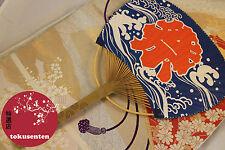 ÉVENTAIL SENSU FAN HOPFÄLLBAR FLÄKT JAPANESE HANDMADE IN JAPAN JAPANESE GENUINE