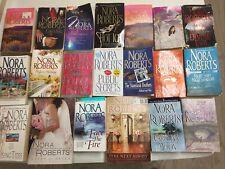 Lot of 20 Nora Roberts  Romance Novels PAPERBACK *RANDOM* Books MIX