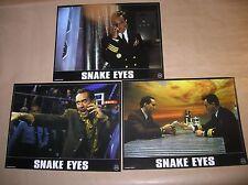 "LOT 3 PHOTOS DU FILM ""SNAKE EYES"" / NICOLAS CAGE / TRES BON ETAT"
