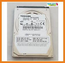 """Disco Duro Toshiba 250GB 2.5"""" 5400RPM Hdd Sata MK2552GSX / HDD2H02"""