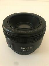 Objectif Canon Autofocus 50mm FE f1.8 Parfait Etat