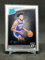 2018-19 Optic Marvin Bagley RC, Rated Rookie Card, Sacramento Kings