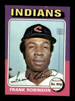 1975 Topps Set Break # 580 Frank Robinson NM *OBGcards*