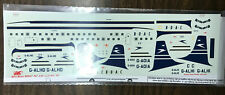 Airliner Model Decals: 1/144 B.O.A.C DC-7C by Welsh Models