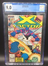 AMAZING COPPER AGE X-FACTOR ISSUE 44 MARVEL COMIC BOOK CGC 9.0 WHITE PAGES 1989