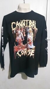 Cannibal Corpse butchered birth long sleeve T shirt death metal deicide