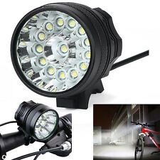 34000LM 14x CREE XM-L T6 LED Fahrradlampe Scheinwerfer kopflampe Licht Set DE
