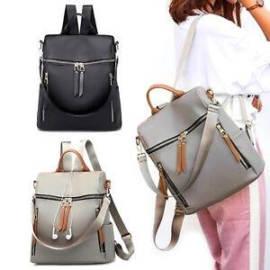 Women Anti-Theft Backpack Waterproof Rucksack Ladies School Travel Shoulder Bag