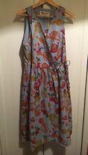 BNWT Gorman Trumpets Chambray Wrap Dress - Size 12