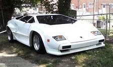 1988 Replica/Kit Makes Lamborghini Countach S5000