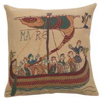 Mandoline Rouge French Tapestry Cushion